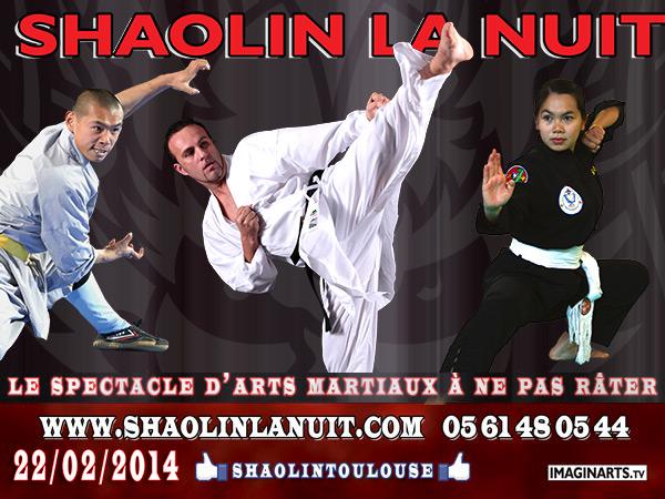 Shaolin la nuit 2014