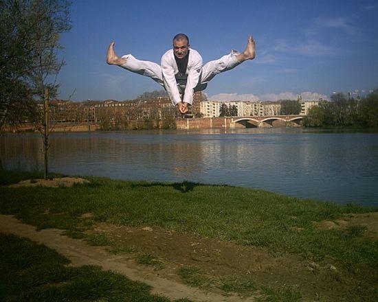 taekwondo shaolin toulouse avec Frédéric Foubert