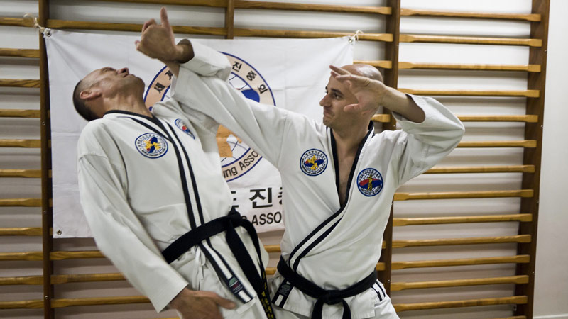 Self défense Hapkido au Shaolin Toulouse