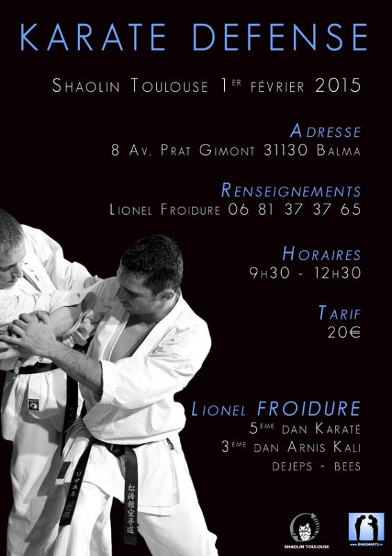stage karate defense avec Lionel Froidure