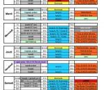 horaire prévisionnel 2015-2016