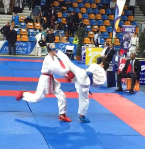Karaté Open d'Orléans et Championnat de France Universitaire