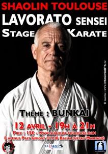 stage karate sensei Lavorato Toulouse avril 2016