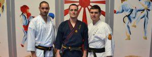 nouveaux gradés Nihon Tai Jitsu