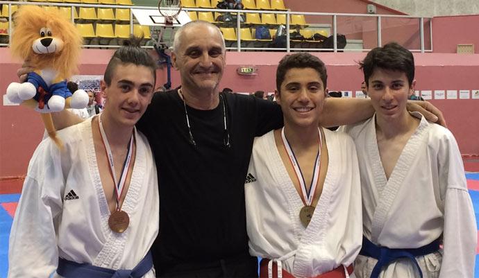 Karate – de l'or pour le Shaolin