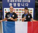 Nicolas et Jessica HAPP Vice champion du Monde d'Hapkido