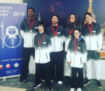 Le Shaolin Toulouse/Balma brille à Moscou