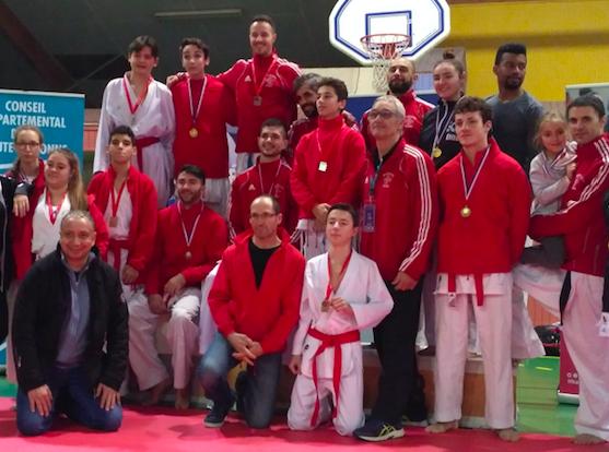 Karaté: Nouvelle médailles pour le Shaolin