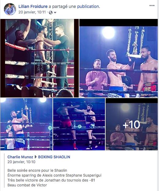 Le Boxing Shaolin au Top – Prochain rendez vous la Coupe du Monde à Dublin que Jonathan avait remporté l'an passé