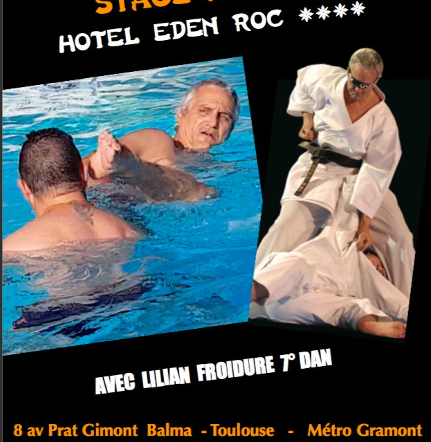 4ème stage de karaté à San Féliu de Guixols avec Lilian Froidure 7° Dan