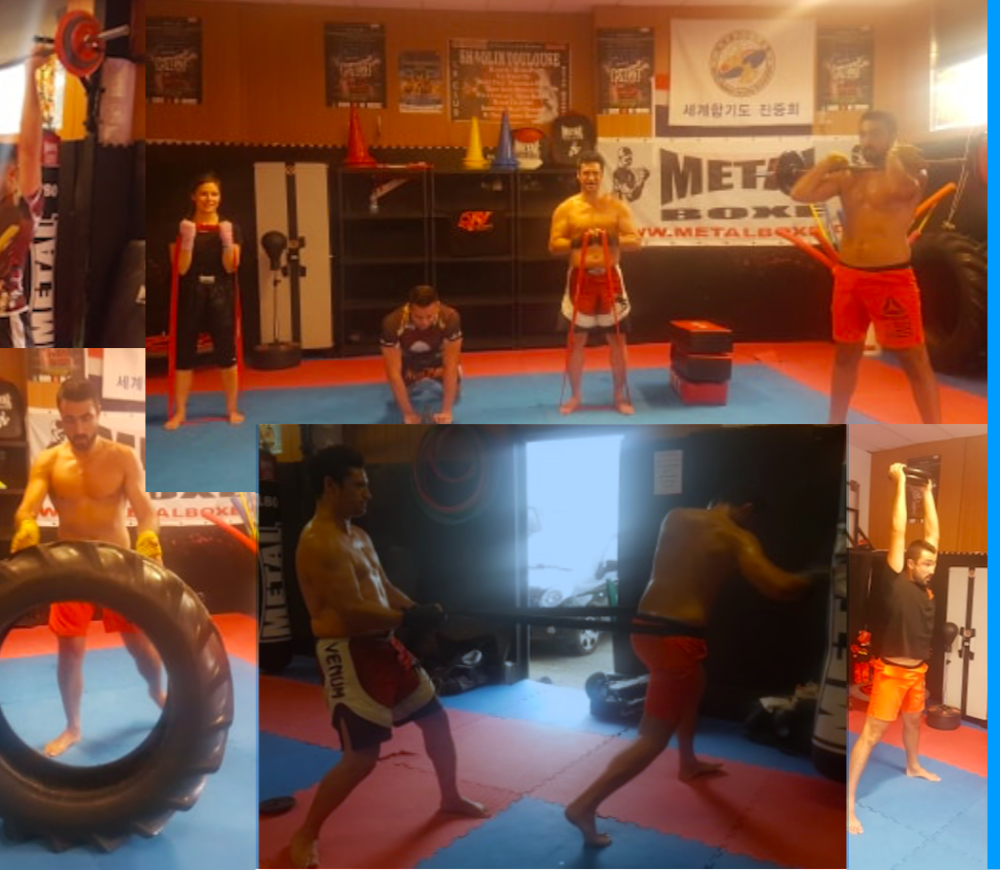 BOXING CROSS TRAINING FIT le lundi à 18H + horaires Boxing