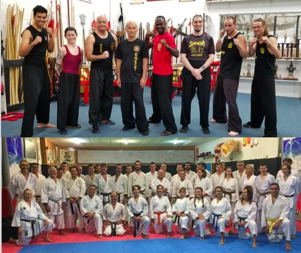 Kung Fu et karaté ( Formations – Partages )
